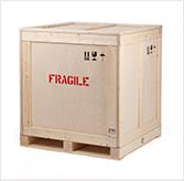 Custom wooden crates